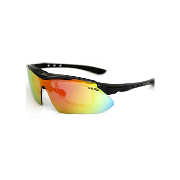 交換レンズ5枚付スポーツサングラス