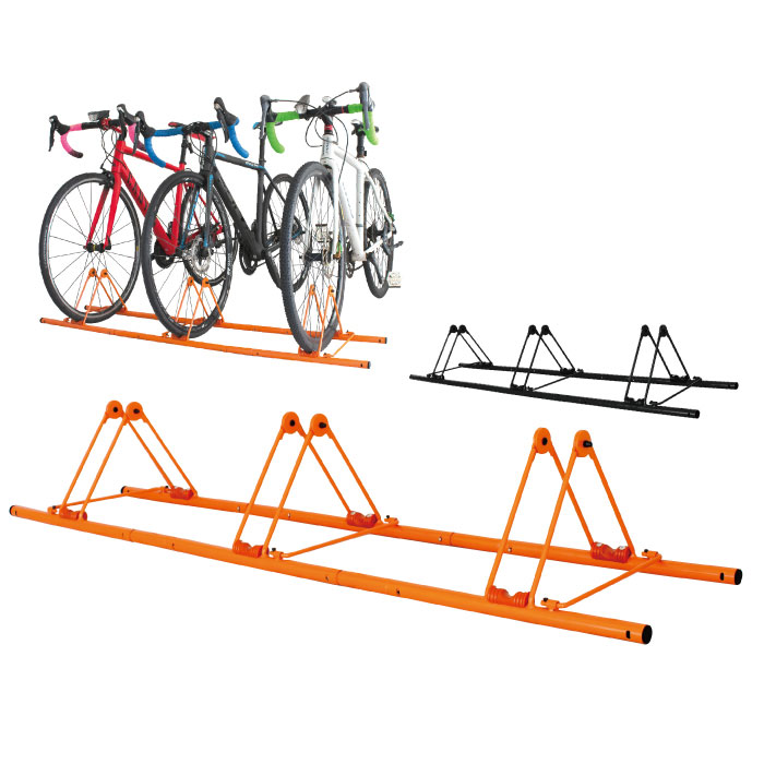 自転車スタンド 3台用 駐輪 (GX-319S-3) 連結 ディスプレイスタンド