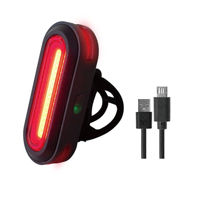 テールライト USB充電式LED リアライト 3面ライト GX-TL5517