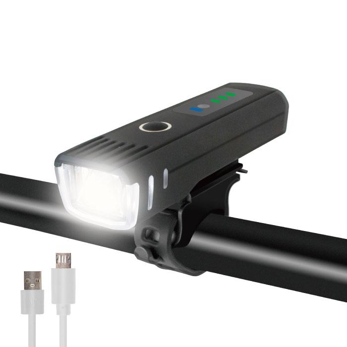 自転車ライト 自動点灯 赤外線センサー機能・usb充電(GX-FT1617)
