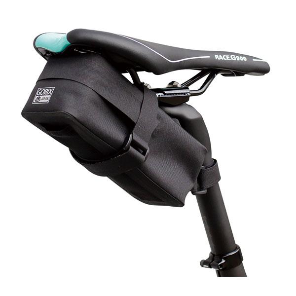 サドルバッグ 防水 小型 自転車 (GX-TB6) シートポストバッグ